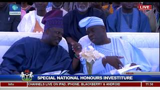 25 Years After, Buhari Honours Late MKO Abiola With Posthumous GCFR Nat'l Award Pt.4