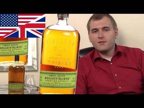 Whiskey Review/Tasting: Bulleit Rye
