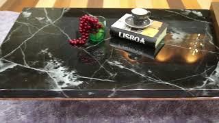 마석수갤러리 네로마퀴나 대리석소파테이블