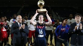Jimmer Fredette Pours in Record 35 Points to Win All-Star MVP!