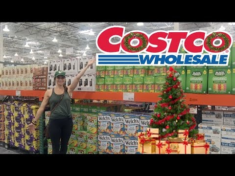 Costco Shop With Me & Haul!!  AWESOME!  Christmas stuff and Lots of Food! Family of 5!