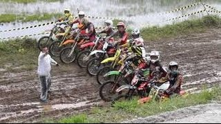 Balap Grasstrack Yang Lucu | Motor Supercross Racing | Motocross