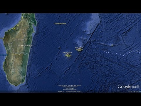 """Lost Continent"" Detected Beneath Indian Ocean"