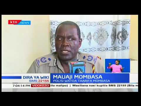 Wasiwasi imetanda katika maeneo ya Mkunazini-Mombasa baada ya mkaazi kuuwa na waalifu wasiotambulika