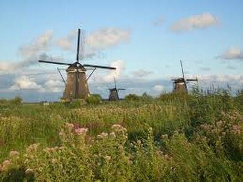 vidéo paysages des Pays-Bas au printemps ( the Netherlands in spring )
