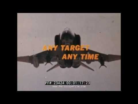 U.S. AIR FORCE PRECISION WEAPONS IN VIETNAM  F-4 PHANTOM & A-4 SKYHAWK FILM  23424
