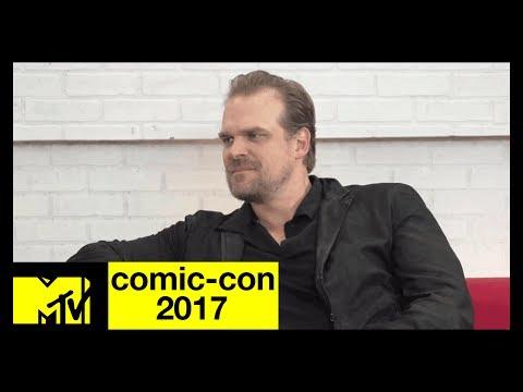 David Harbour on 'Stranger Things' Season 2 Pressures  ComicCon 2017  MTV