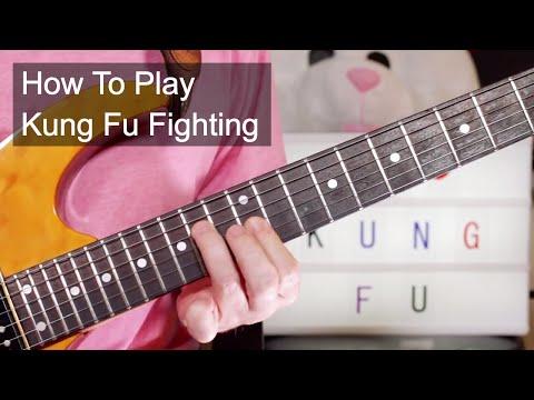 'Kung Fu Fighting' Carl Douglas Guitar Lesson