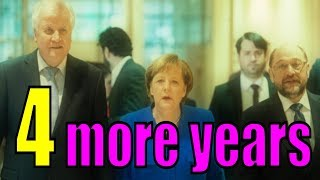 Merkel Forms a New Government