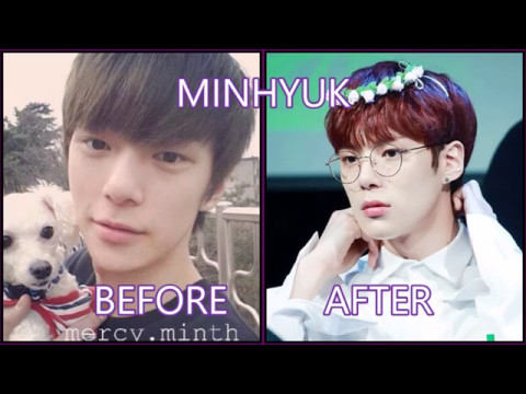 MONSTA X | BEFORE AND AFTER DEBUT
