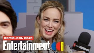 DC's Legends Of Tomorrow's Caity Lotz, Brandon Routh & More LIVE | SDCC 2019 | Enterta