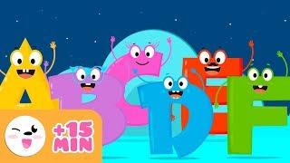 Abecedario a b c d e f -  Vídeo educativo para aprender las letras