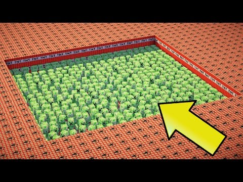 Thumbnail: 10,000 TNT VS 1000 CREEPERS | Minecraft