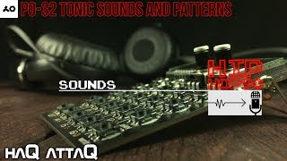 New PO-32 Tonic Sounds and Patterns │ 90's HIP HOP - haQ attaQ