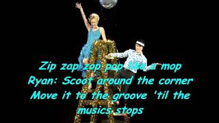 High School Musical - Bop to the top - lyrics