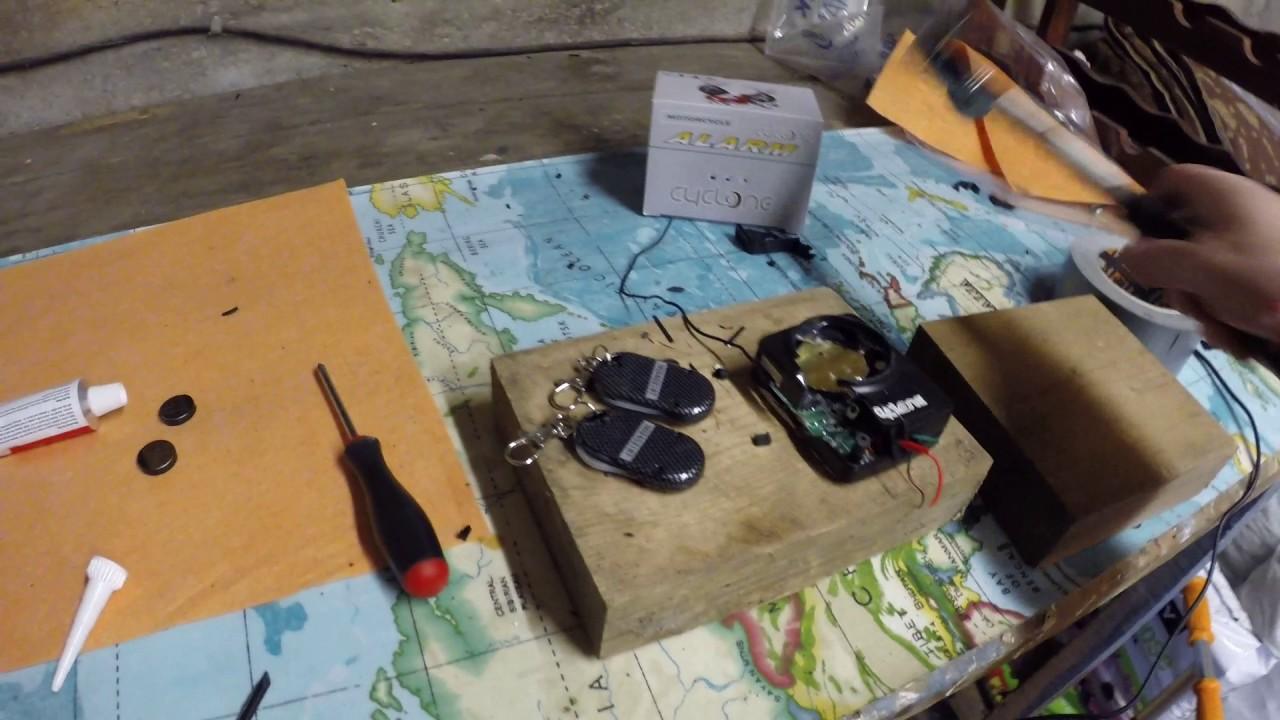 Как се ремонтира дефектирала мото аларма Hawk Cyclone C1 само с един инструмент,HARDCORE VERSION!!!