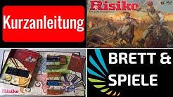 Risiko: Standard 2016 - Brettspiel / Kurzanleitung / Deutsch
