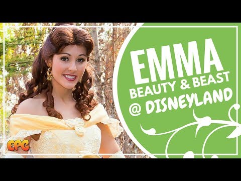 Emma Watson Beauty And The Beast 2017 Events Arrive At Disneyland