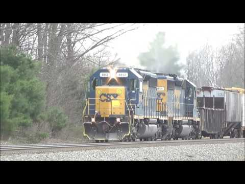 CSX Intermodal Plus CSX Ethanol Meets CSX Mixed Freight - 4/22/2017