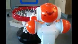 NAO Robot Basketball - HEIR Lab - Marquette University