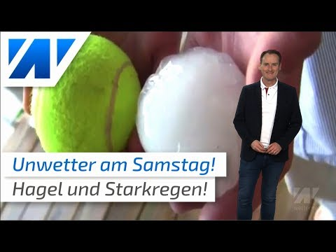 Hagel in München, Sturzfluten in Berlin: Am Samstag gibt es neue Unwetter! (Mod.: Dominik Jung)