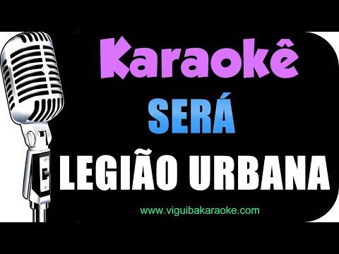 Será - Legião Urbana / VERSÃO KARAOKÊ