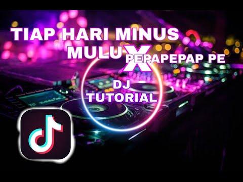 dj-tiap-hari-minus-mulu-🤣-x-pepapepap-pe-🤟-full-bass-|-tiktok-2020-|-dj-tutorial-remix