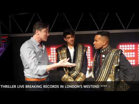 VIDEO: On Stage With Cast of Thriller Live