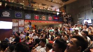 Cambodia Real Madrid fans reaction to ramos goal