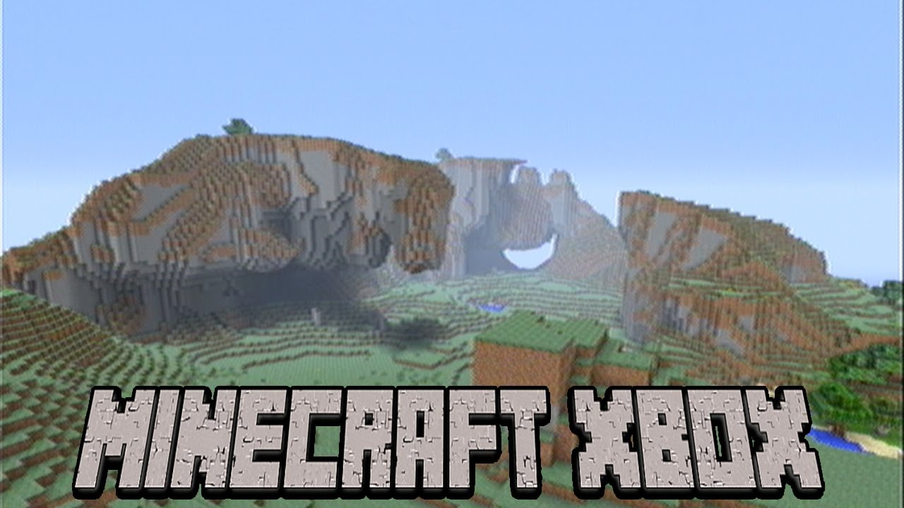 TU100 Seed Of The Week #10 Extreme Hills Biome Minecraft Xbox
