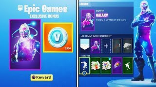 "DO YOU WANT TO HAVE THE SKIN ""GALAXY"" FOR FREE? Fortnite: Battle Royale"