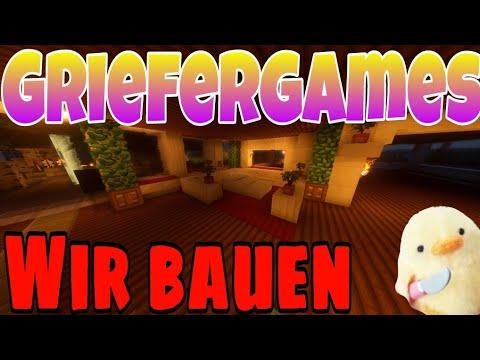 Die Villa wird weitergebaut / Griefergames.net (Minecraft/Deutsch) I Saptor