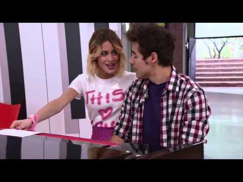 Виолетта 3 - Вилу и Леон поют Amor en El Aire - серия 9