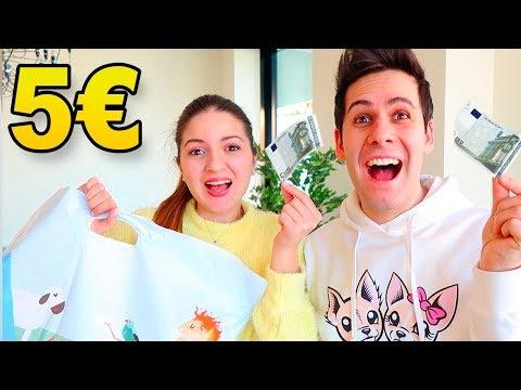 5 EURO SHOPPING CHALLENGE! *Chi spenderà meglio i soldi?*
