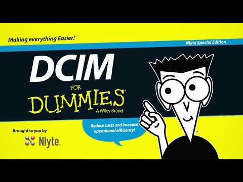DCIM For Dummies for Infrastructure Professionals