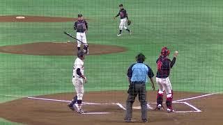 岡直人 10回表無死満塁で代打井上和哉を空振り三振に抑える20180613