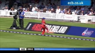 England Women v Australia Women - NatWest ODI Lord's - extended highlights