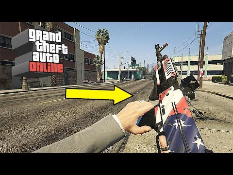 GTA Online Gunrunning DLC NEW Camos for the Independence Day - 2017 Independence Day DLC Content!!!