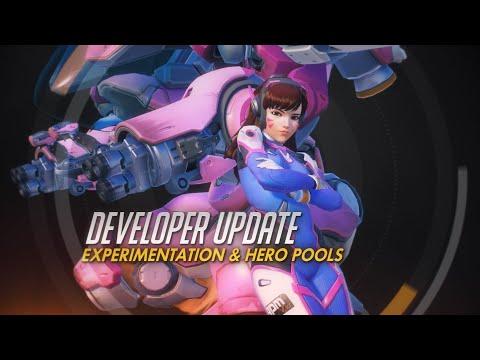 Developer Update | Experimentation & Hero Pools | Overwatch