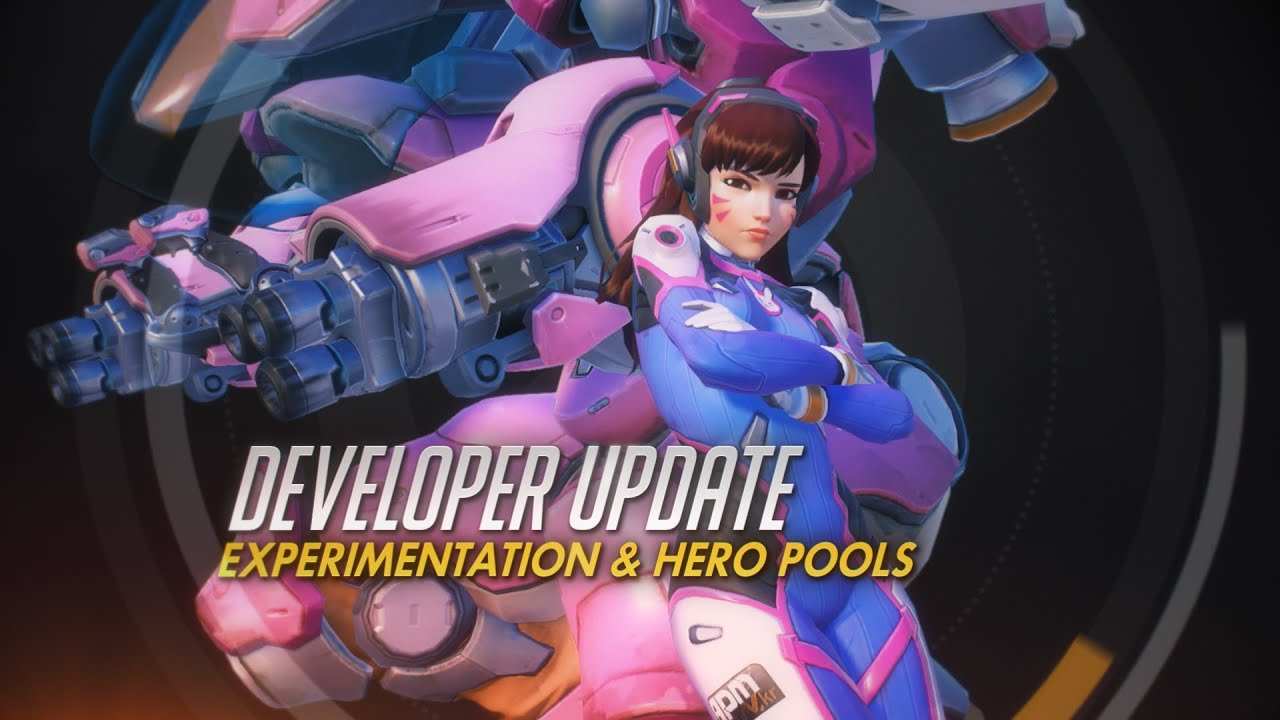 Developer Update | Experimentation & Hero Pools | Overwatch thumbnail