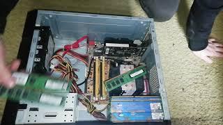 ремонт старого компьютера