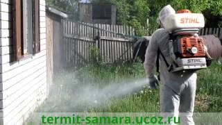 видео уничтожение насекомых в самаре