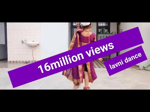 मला पिरतिच्या झुल्यात झुलवा - मराठी लावणी गीत || MALA PIRTICHYA LAVNI DANCE BY KANISHKA GUPTA