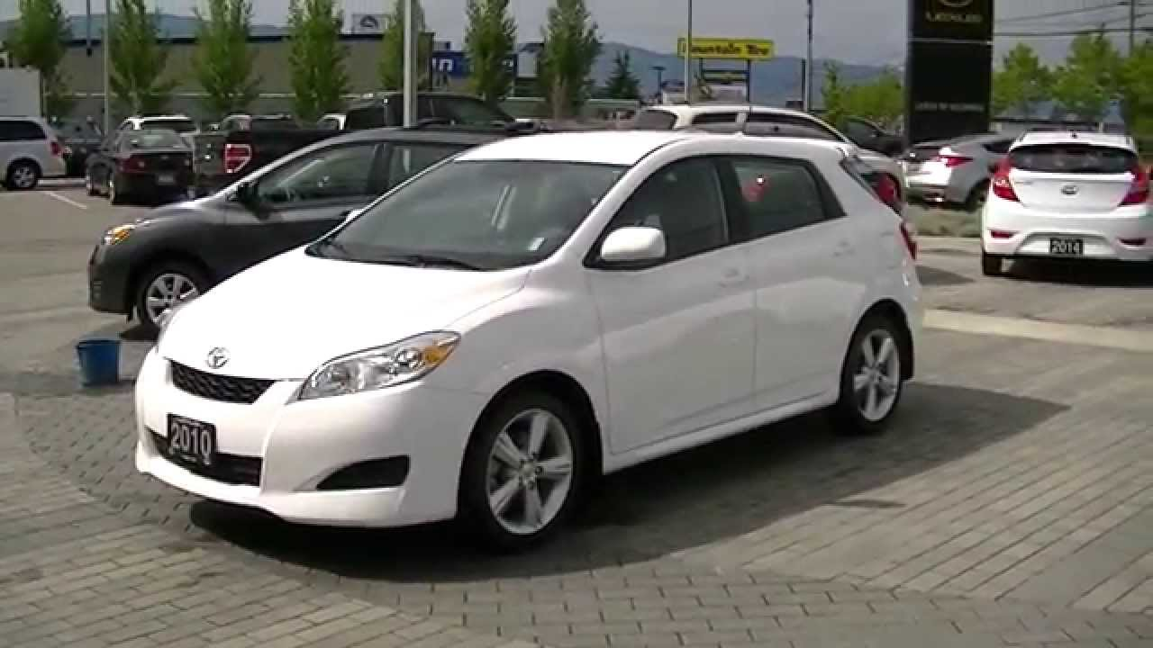 2010 toyota matrix xr video 001 youtube. Black Bedroom Furniture Sets. Home Design Ideas