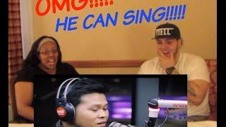 MARCELITO POMOY SINGS THE PRAYER REACTION!!!