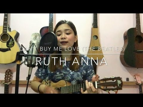 Can't Buy Me Love (The Beatles) Ukulele Cover -  Ruth Anna