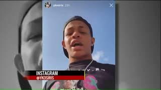 Four injured after rapper's tour van shot at on I-64 after Pageant concert