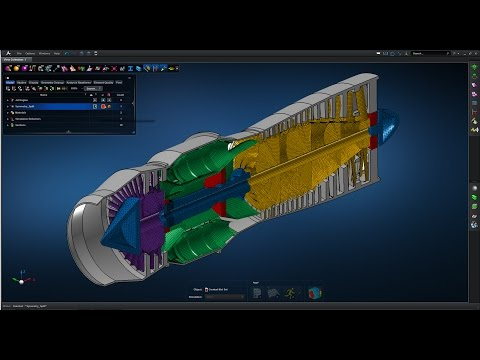 Apex Jet Engine Case Study | 03.Solid Model Development | Evotech CAE Ltd