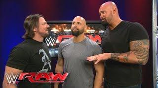 AJ Styles reunites with Luke Gallows & Karl Anderson: Raw, April 18, 2016