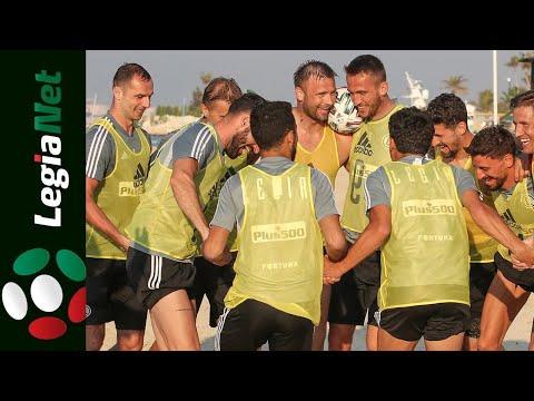 Zgrupowanie w Dubaju 2021. Trening, zabawa i integracja na plaży
